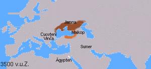 Los idiomas indogermanos 4000 años antes de Cristo