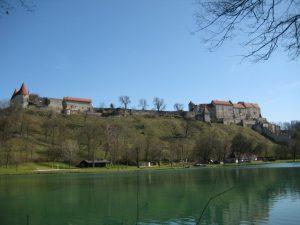 Castillo Burghausen de dia Alemania 1