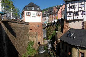 Saarburg cascada Alemania