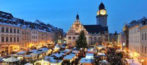 Mercadillo de navidad Plauen Alemania 1