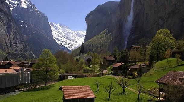Cataratas de Lauterbrunnen Schweiz