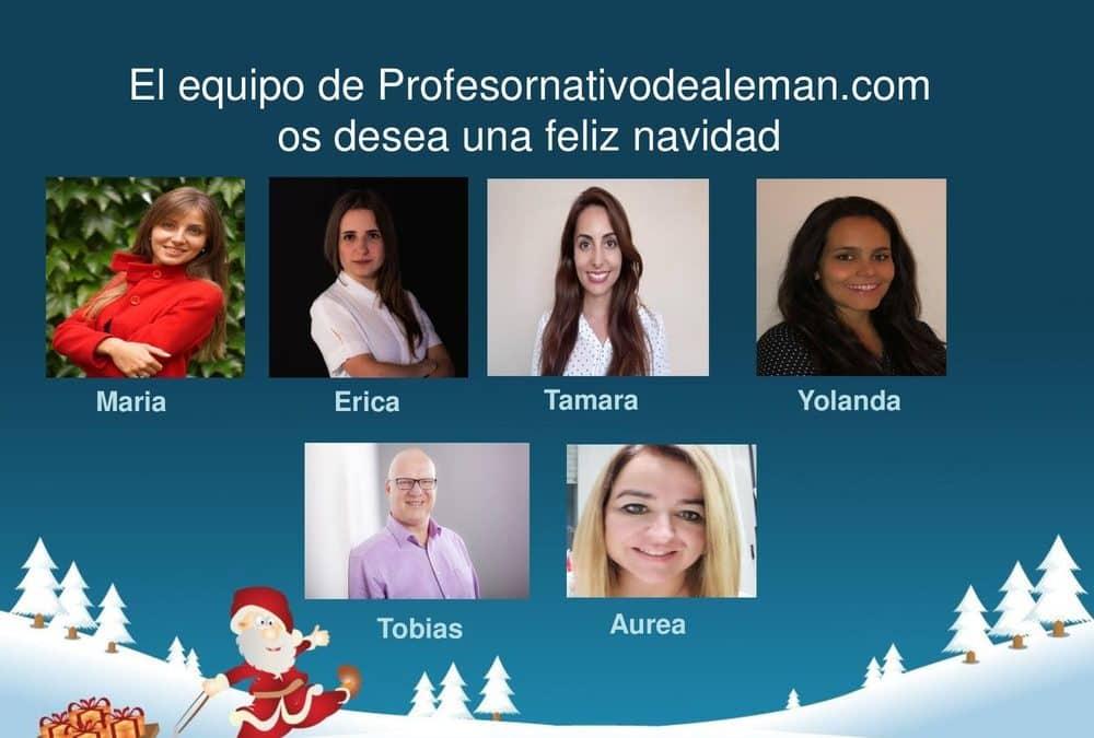Os deseamos a todos una feliz navidad.